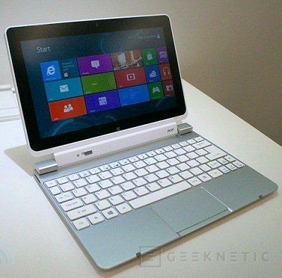 Computex 2012. Acer. Iconia W510 y W700, Imagen 2