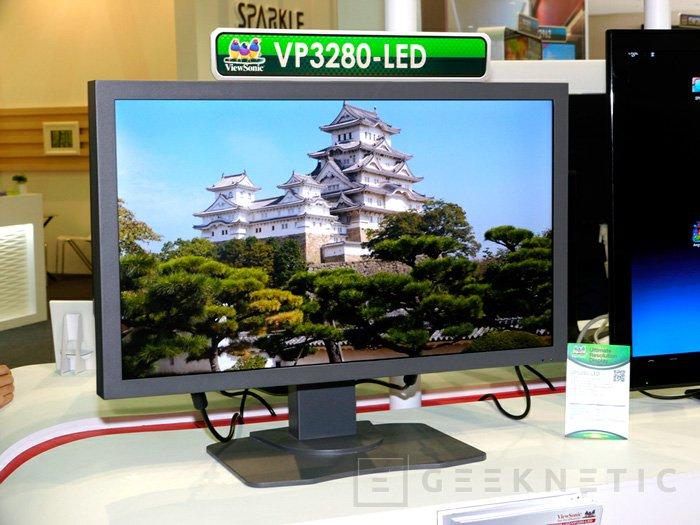Computex 2012. ViewSonic. Monitor de resolución 4k VP3280, Imagen 1
