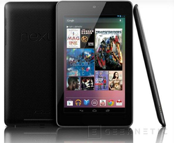La Nexus 7 es oficial, Imagen 1