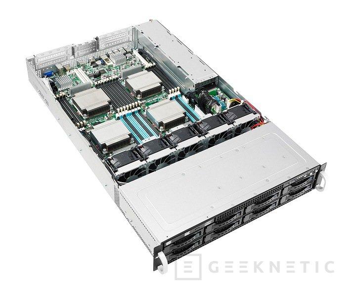 ASUS actualiza sus servidores a los procesadores Xeon E3 y E5, Imagen 1