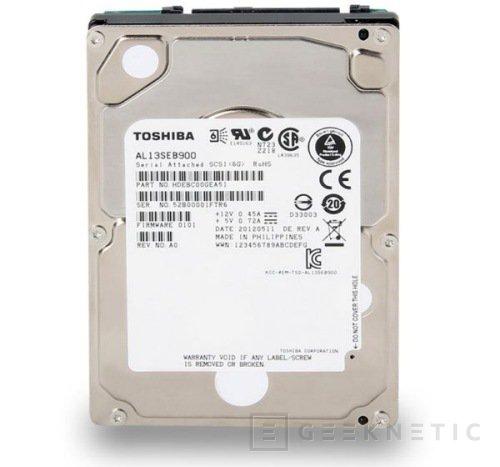 """Toshiba presenta nuevos discos SAS de 2.5"""", Imagen 1"""