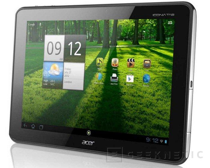 La Iconia A700 de Acer disponible en España, Imagen 1