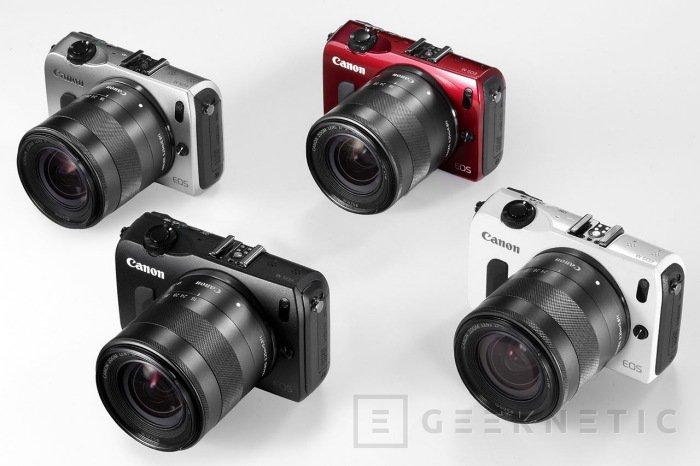 Canon se apunta la última a la moda micro cuatro tercios, Imagen 1
