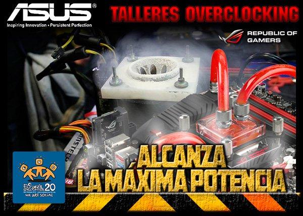 ASUS ofrecerá talleres y demostraciones de Overclock  en la Euskal Encounter 20, Imagen 1