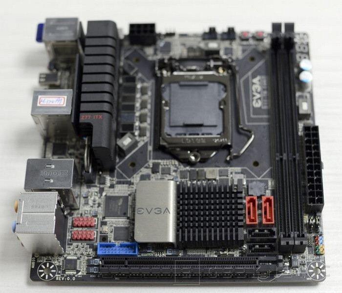 EVGA muestra su nueva Z77 Mini-ITX, Imagen 1