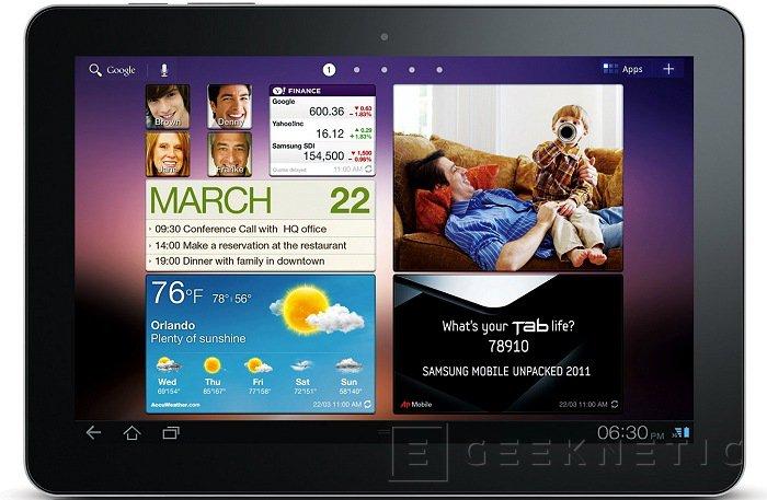 Samsung prepara un tablet con pantalla de 2560x1600 puntos, Imagen 1