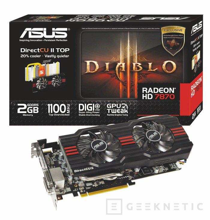 ASUS Radeon 7870 con bundle Diablo III, Imagen 1