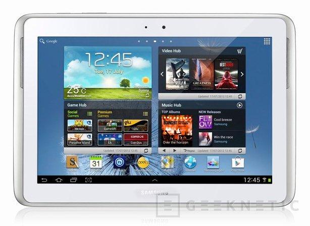 Samsung Galaxy Note 10.1, Imagen 1