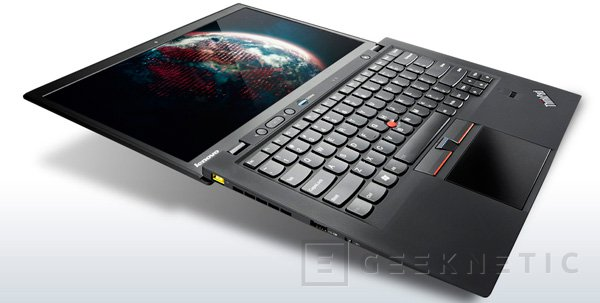 Lenovo presenta su ultrabook ThinkPad X1 Carbon, Imagen 1