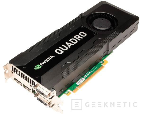 Nvidia Quadro K5000, nueva gráfica para el mercado profesional, Imagen 1