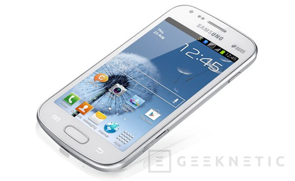 Samsung Galaxy S Duos. Teléfono con soporte para doble SIM, Imagen 1