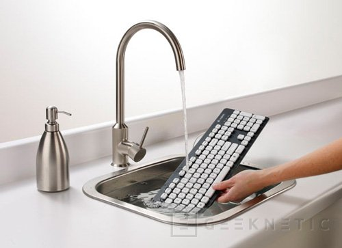 K310. Curioso teclado lavable de Logitech, Imagen 1