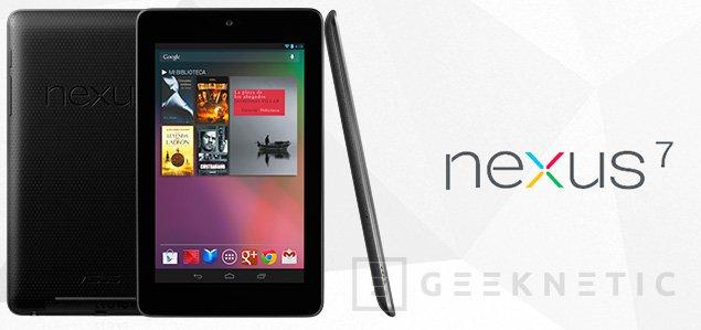 Nexus 7 ya disponible en España, Imagen 1