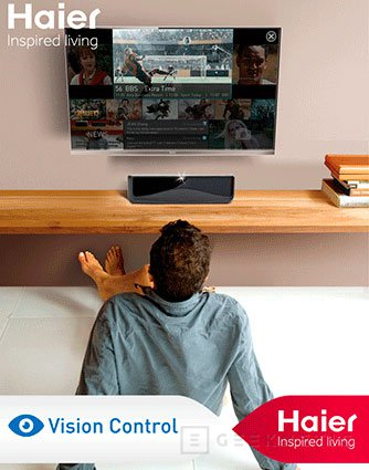 IFA 2012. Hairer. Televisores transparentes 3D, Imagen 1