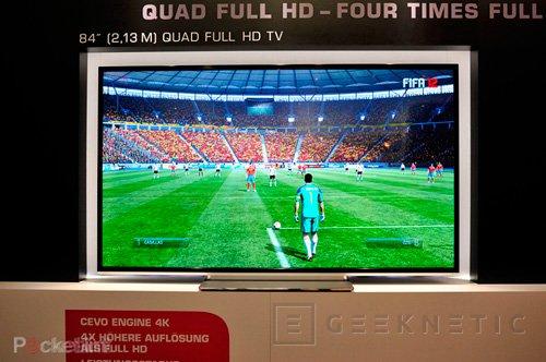 IFA 2012. Toshiba.Televisor de 84 pulgadas y 4k de resolución, Imagen 1