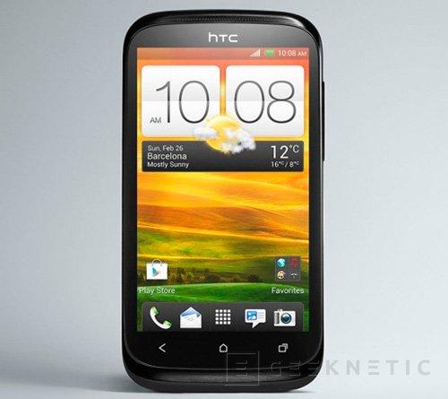 IFA 2012. HTC Desire X, Imagen 1