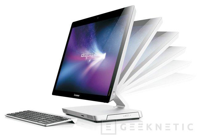 IFA 2012. Lenovo IdeaCentre, un todo en uno de diseño, Imagen 1