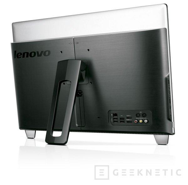 IFA 2012. Lenovo IdeaCentre, un todo en uno de diseño, Imagen 2