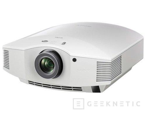 IFA 2012. Sony VPL-HW50ES, proyector 3D FullHD, Imagen 2