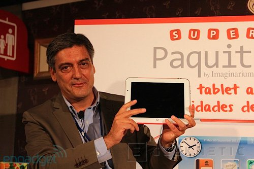 Imaginarium lanzará una tablet para los más pequeños de la casa, Imagen 1