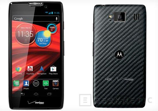 Motorola presenta sus dos nuevos smartphones. Razr M y Razr Maxx HD, Imagen 2