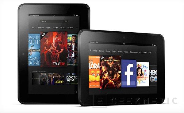 Amazon presento hoy tres nuevos Kindle Fire, Imagen 1