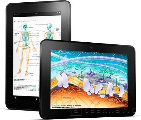 Amazon presento hoy tres nuevos Kindle Fire, Imagen 2
