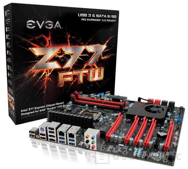 Nuevas placas EVGA Z77 y Z75, Imagen 1