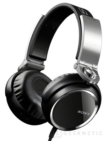 Auriculares Sony MDR-XB, Imagen 1