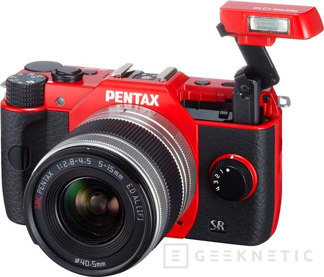 Pentax Q10, cámara compacta con objetivos intercambiables, Imagen 1