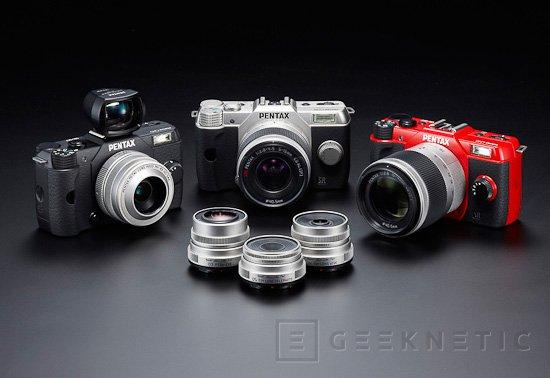 Pentax Q10, cámara compacta con objetivos intercambiables, Imagen 2