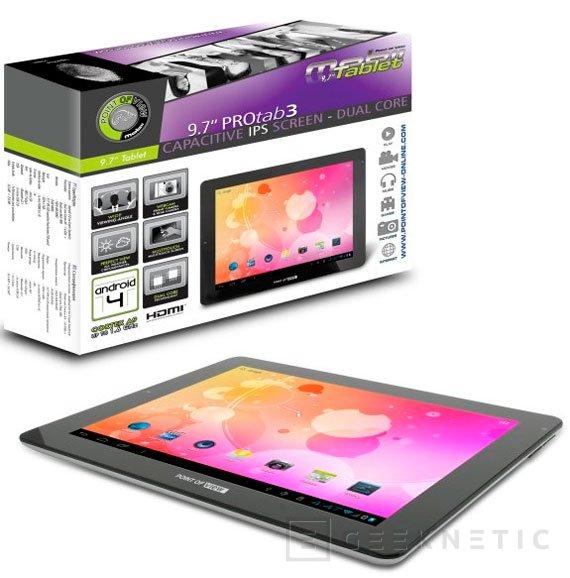 Nuevas tablets económicas de Point of View con Android Jelly Bean 4.1, Imagen 2