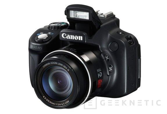 Canon PowerShot SX50 HS y PowerShot G15 f/1,8, Imagen 1