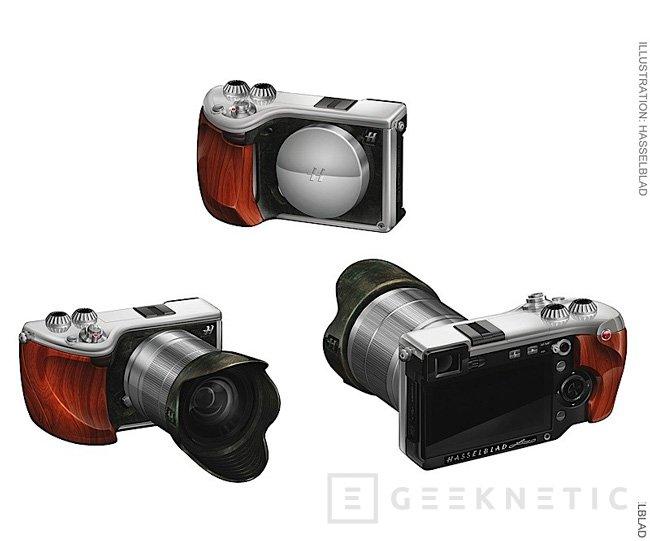 Hasselblad y Sony lanzan Lunar,una cámara compacta con acabados de lujo, Imagen 2