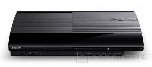 Sony rediseña su PS3, más pequeña y ligera, Imagen 1