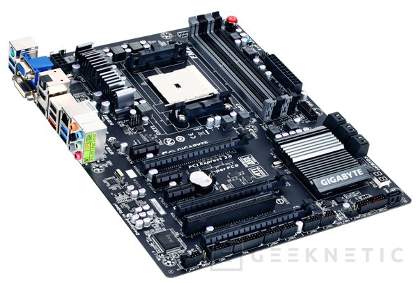 Nuevas placas base FM2 para APUs AMD Trinity de Gigabyte, Imagen 1