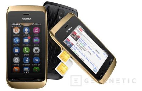 Nokia Asha 308 y Asha 309, smartphones económicos, Imagen 1