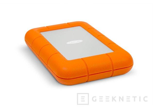 LaCie Rugged USB 3.0, disco  externo de alta velocidad con USB y Thunderbolt, Imagen 1