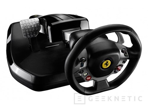 Thustmaster Ferrari Vibration GT Cockpit 458 Italia Edition, Imagen 1
