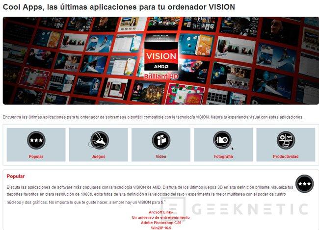 AMD lanza APPZone, una tienda de aplicaciones para PC, Imagen 1
