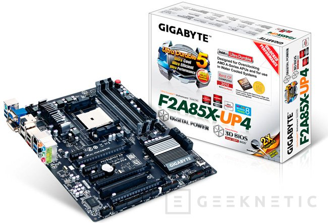Gigabyte presenta su nueva serie de placas FM2 para las nuevas APUs de AMD, Imagen 1