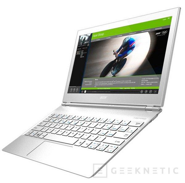 Acer ultrabook S7 de 11 y 13 pulgadas, Imagen 2