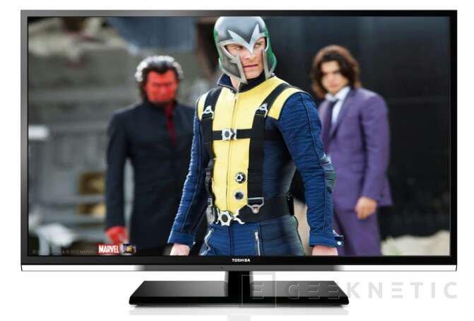 Nuevas TV SLIM LED SMART de Toshiba con conectivididad WiDi, Imagen 1