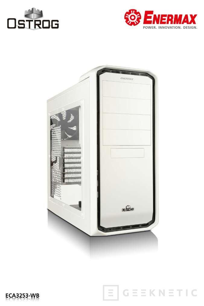 Enermax lanza su caja Ostrog en color blanco, Imagen 1