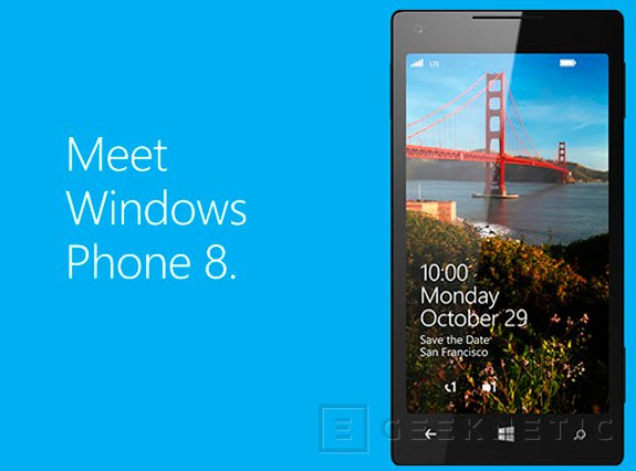 Ya tenemos fecha de lanzamiento de Windows Phone 8, Imagen 1