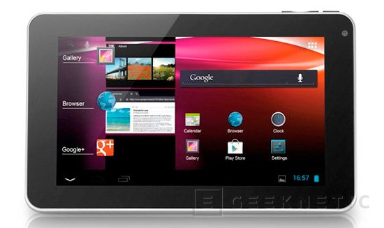 Tablet Alcatel One Touch T10, Imagen 1