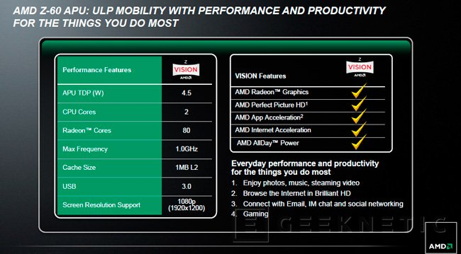 AMD entra en el mercado de tablets Windows con sus nuevas APU Serie Z, Imagen 1
