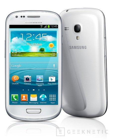 Especificaciones del Samsung Galaxy S III Mini, Imagen 1