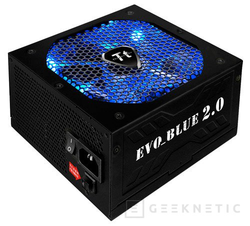 Fuentes Thermaltake Evo Blue 2.0 con Turbo Charge, Imagen 1