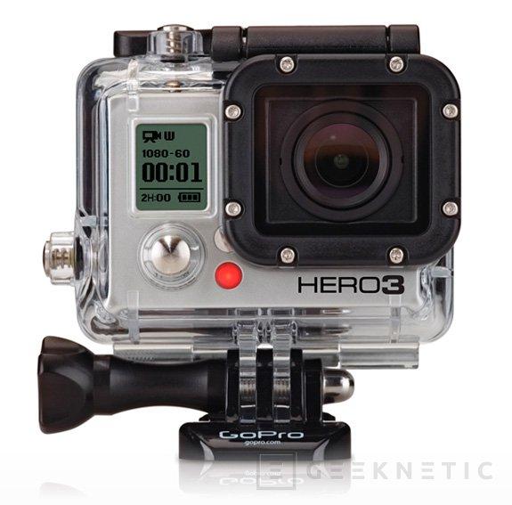 Nuevas GoPro Hero 3 en distintas versiones, Imagen 1